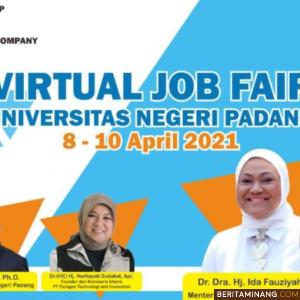 UNP Laksanakan Virtual Job Fair dan Scholarship Opportunities